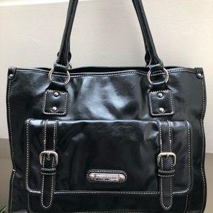 Black Leather Franco Sarto bag